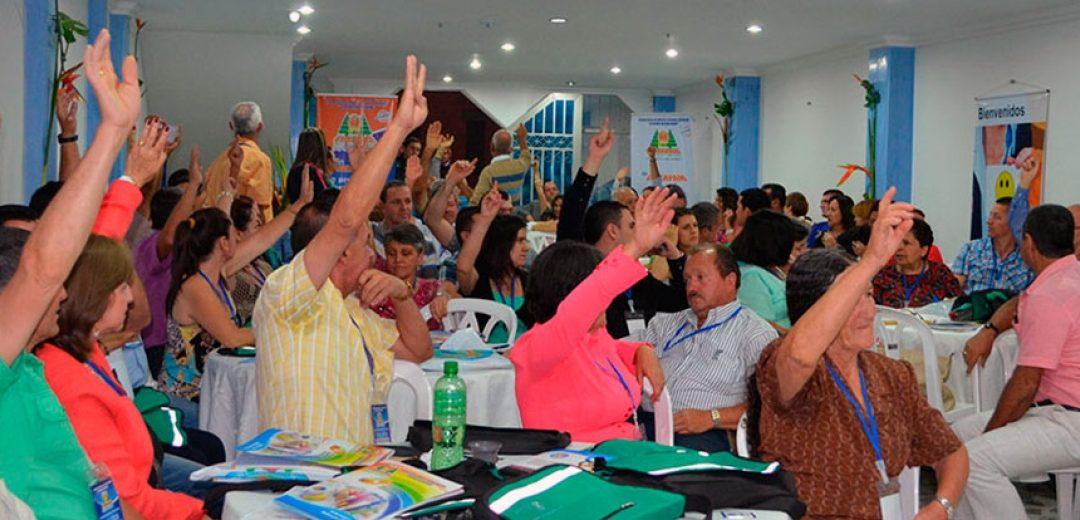 Asamblea de Delegados: Un encuentro democrático vivió la Cooperativa Coocreafam en Granada