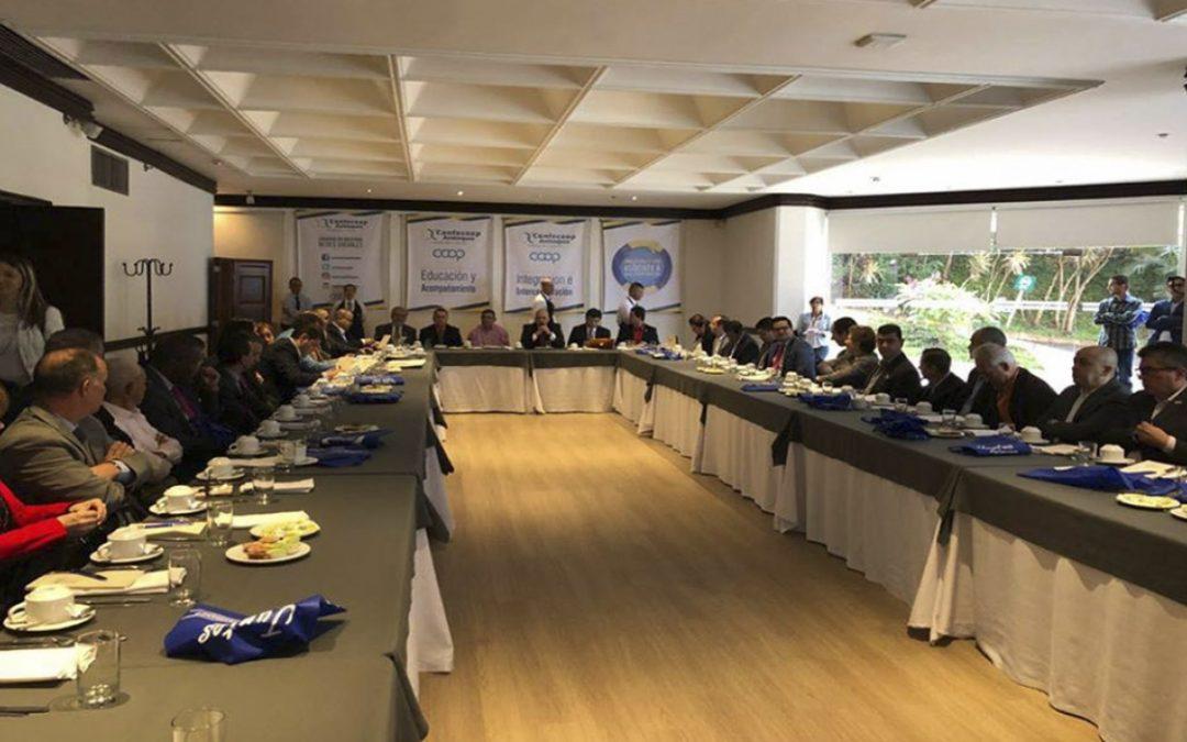 Cooperativas de Antioquia se reunieron con Congresistas Antioqueños para el período 2018-2022
