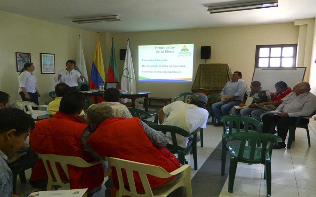 Mesa de Economía Solidaria El Peñol: Mecanismo de participación e incidencia social
