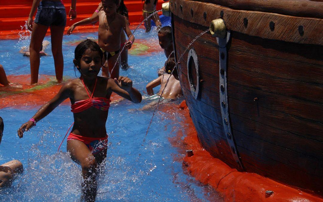 Vacaciones recreativas: juegos y  valores cooperativos